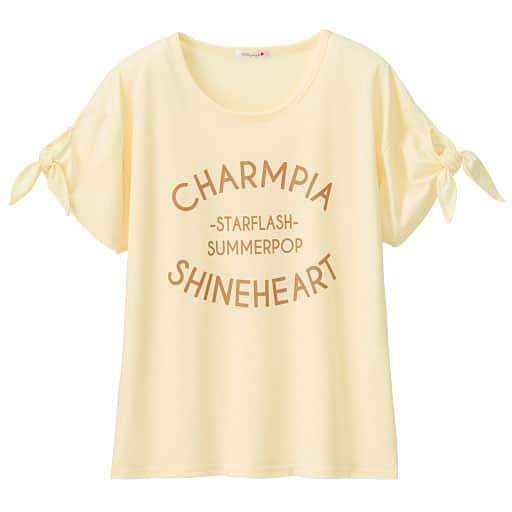 【SALE】 【ティーンズ】 袖リボンプリントTシャツの通販