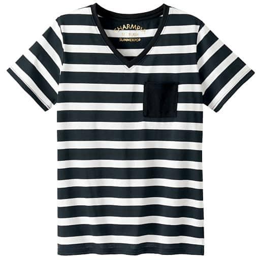 【SALE】 【ティーンズ】 シンプルVネックTシャツの通販