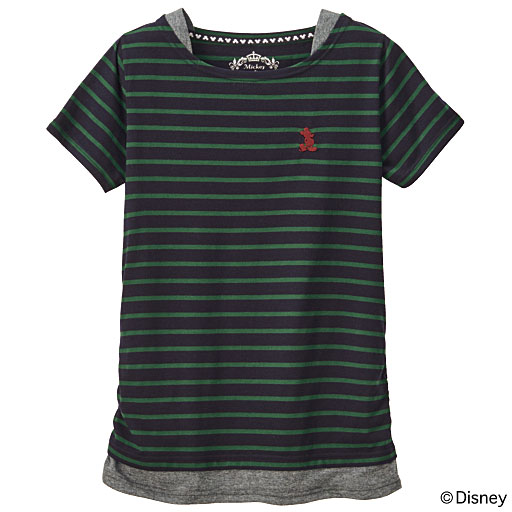 【SALE】 【ティーンズ】 フェイクレイヤードTシャツ(ディズニー)の通販