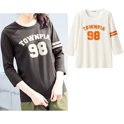 【ティーンズ】 7分袖Tシャツの通販