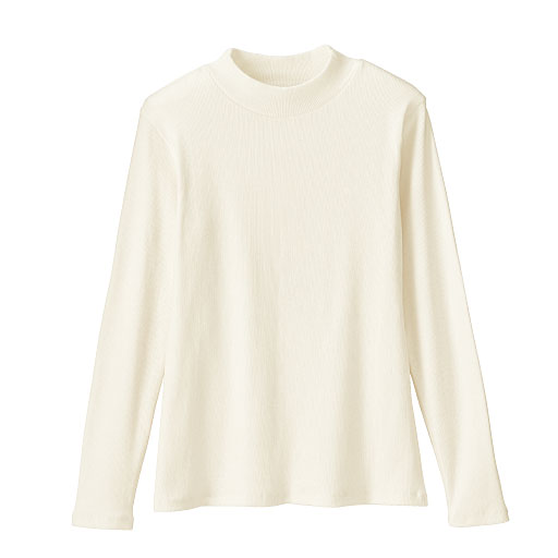 【SALE】 【ティーンズ】 ボトルネックリブTシャツの通販