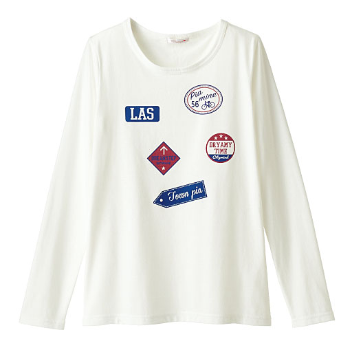 【SALE】 【ティーンズ】 長袖プリントTシャツの通販