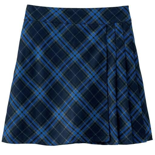 30%OFF【レディース】 LIZ LISA doll インナーパンツ付き チェック柄プリーツスカート(スクール・制服)