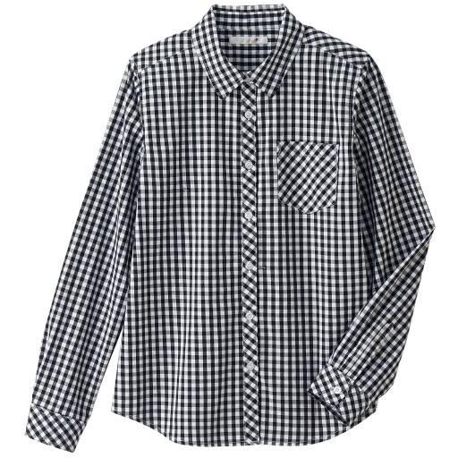 【ティーンズ】 長袖ギンガムチェックシャツ – セシール