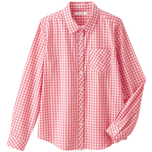 【ティーンズ】 長袖ギンガムチェックシャツの通販