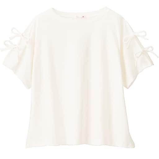 【ティーンズ】 袖リボンTシャツの通販