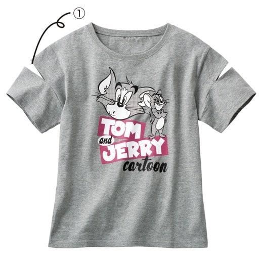 【ティーンズ】 キャラクターTシャツ(トムとジェリー)の通販