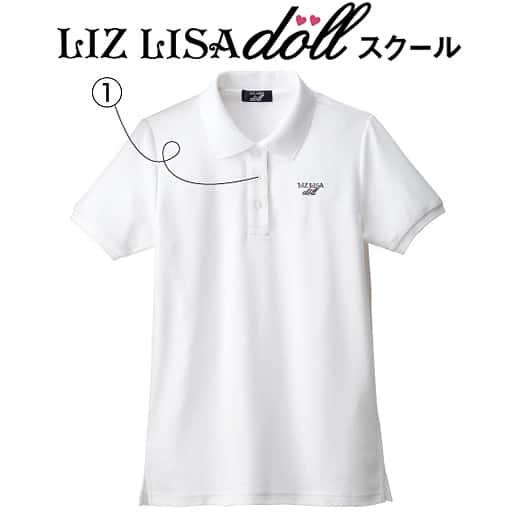 【ティーンズ】 ポロシャツ(LIZ LISA doll)