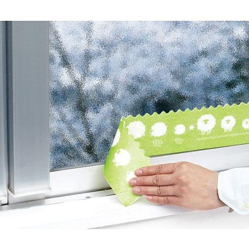 すりガラス対応結露吸水テープ