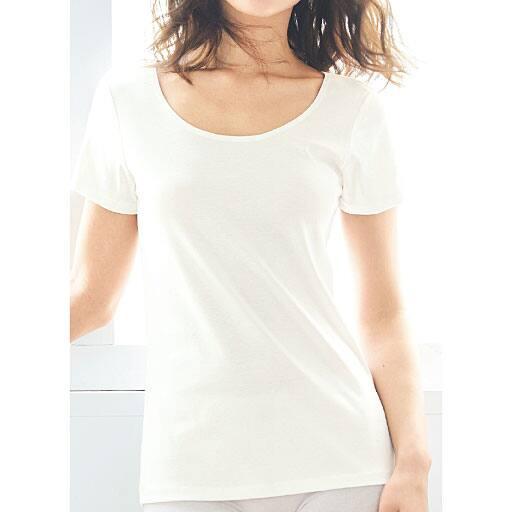 【SALE】 【レディース】 フレンチ袖(型崩れしにくい綿100%インナー) – セシール