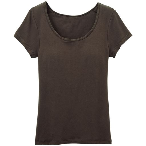【レディース】 カップ付きフレンチ袖(立体カップで胸すっきり綺麗) – セシール