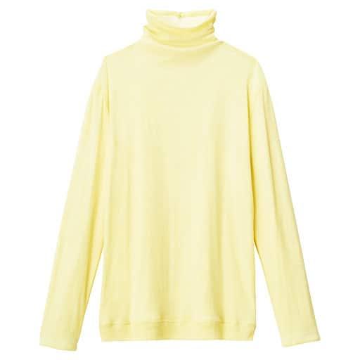 【SALE】 【レディース】 タートルネック10分袖(綿100%ソフトシフォン お洒落に着こなせるリバーシブルタイプ)の通販