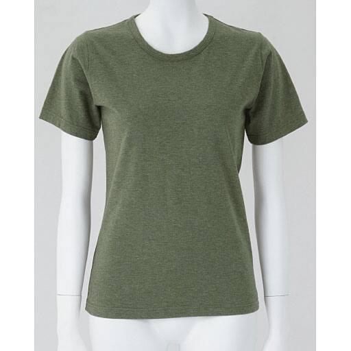 【レディース】 半袖Tシャツ(型崩れしにくい 綿100%SZTシャツ)の通販