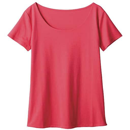【SALE】 【レディース】 ダブルフロントクルーネック半袖Tシャツの通販
