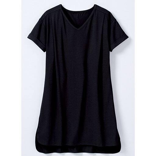 【SALE】 【レディース大きいサイズ】 ひんやりを感じる半袖ロングTシャツの通販
