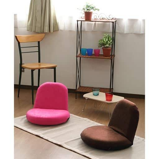 コンパクト座椅子(ポップチェア)の写真