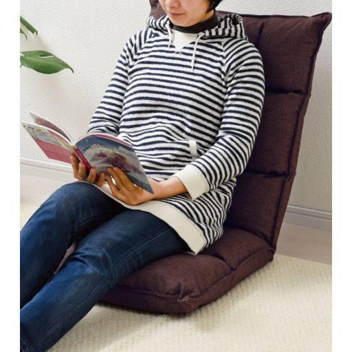 だんだん割り 低反発ハイバック座椅子 – セシール