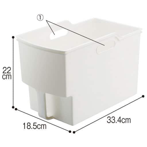 だんだん割り吊り戸棚収納ボックス6個組 – セシール