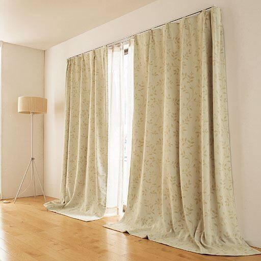 窓を包む保温・防炎1級遮光カーテンの商品画像
