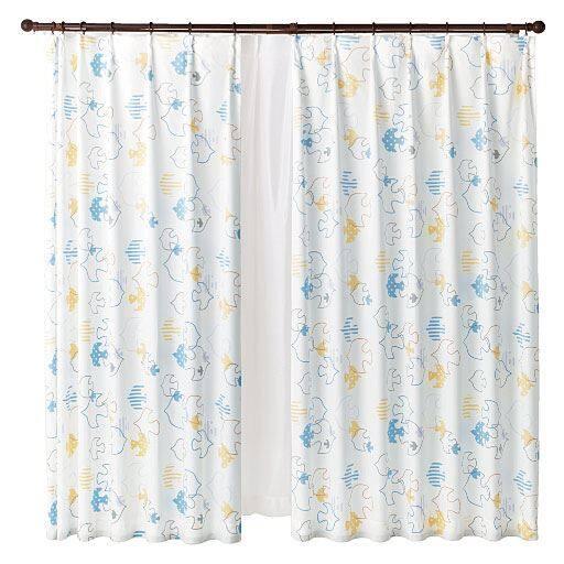 遮熱プリントカーテンの写真