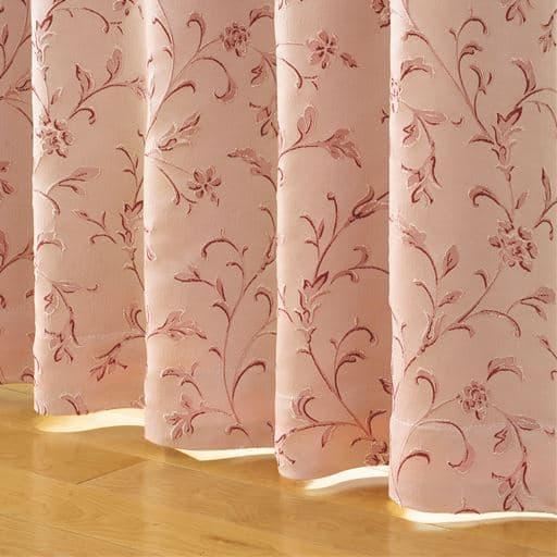 1級遮光裏地付きジャカード織りカーテンの商品画像