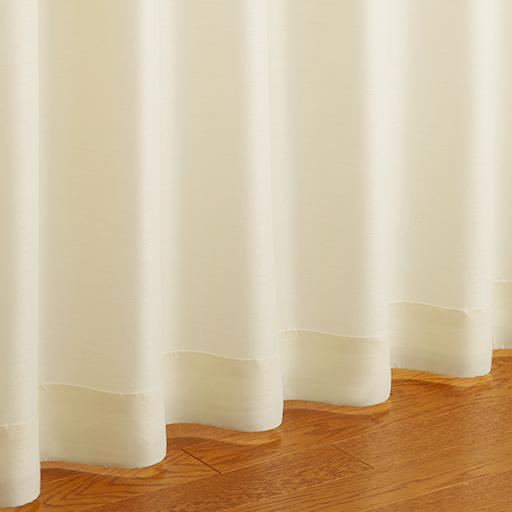 お部屋になじみやすいシンプル防炎カーテン – セシール