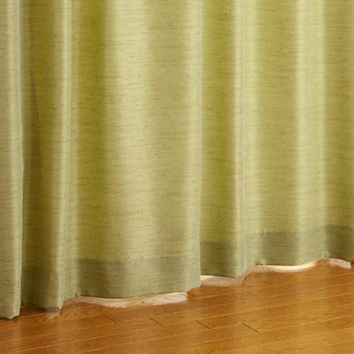 〔形状記憶付き〕お部屋になじみやすいシンプル防炎カーテン - セシール