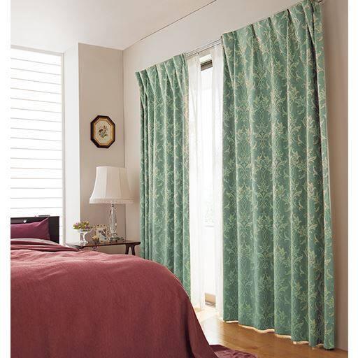 遮熱保温・安眠1級遮光ジャカード織カーテンの小イメージ