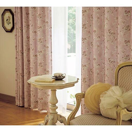 遮熱遮光裏地付きカーテンミラーレースカーテンセットの商品画像