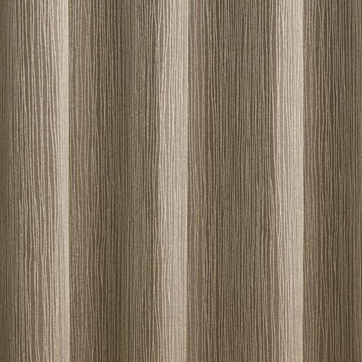 〔形状記憶付き〕ドレープたっぷり2倍ヒダジャカード織りカーテン(波ストライプ) – セシール
