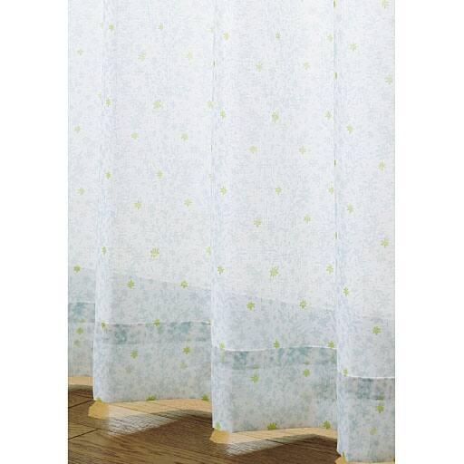 【SALE】 UVカットデザインボイルカーテンの写真