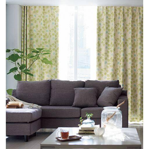 遮熱保温・安眠1級遮光プリントカーテンの写真