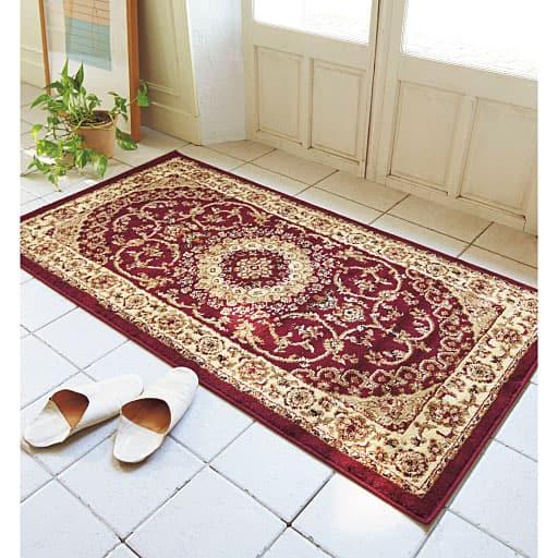 【トルコ製】ウィルトン織り玄関マットの商品画像