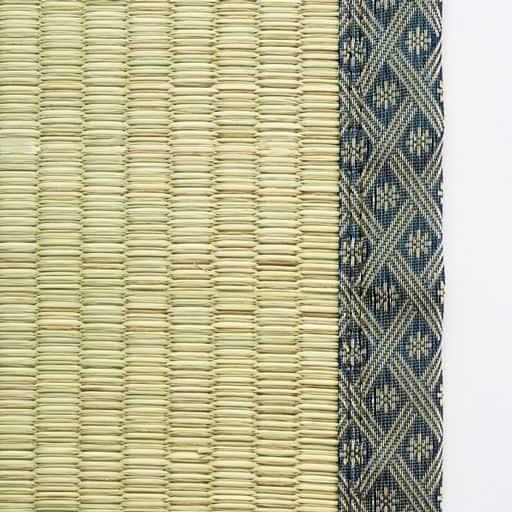 ヒバ加工い草カーペット(裏貼りあり) 日本製い草使用 洋室のフローリングに敷いてもOKの商品画像