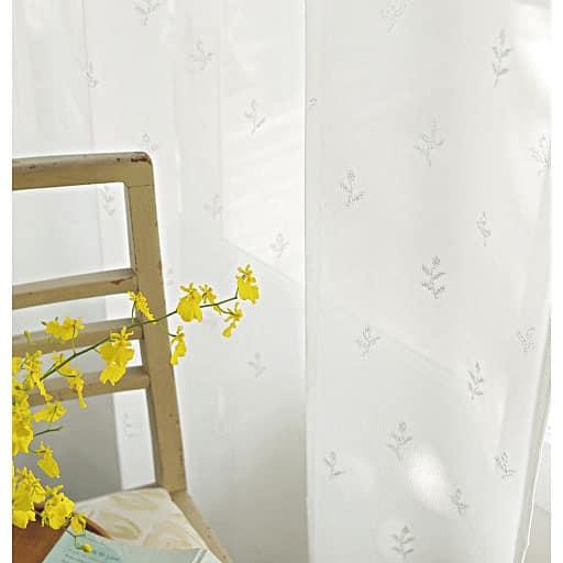 UVカットミラーパイルレースカーテンと題した写真