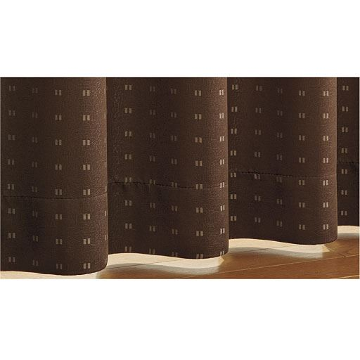 安眠1級遮光裏地付きカーテン – セシール