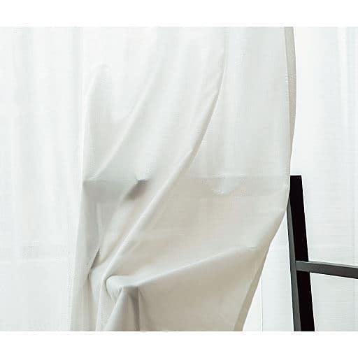 〔形状記憶付き〕防炎UVカットミラーレースカーテンの商品画像