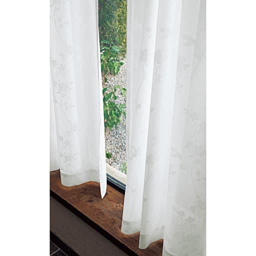 陰影が美しい遮熱UVカットミラーレースカーテンの商品画像