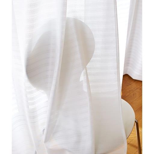 横ボーダーミラーレースカーテンの商品画像