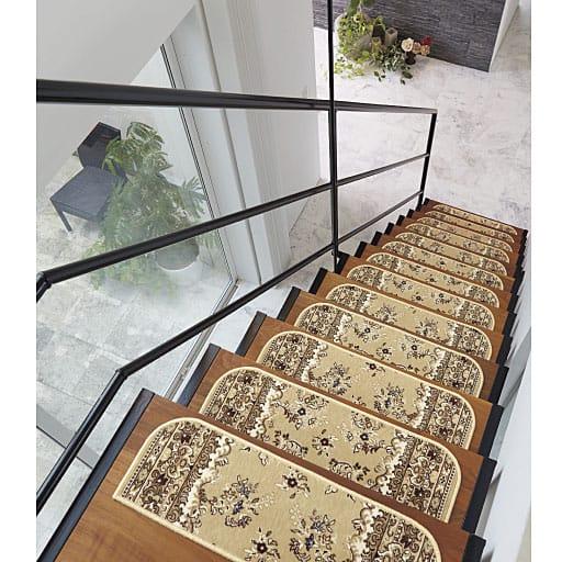 薄くても高密度モケット階段マット – セシール