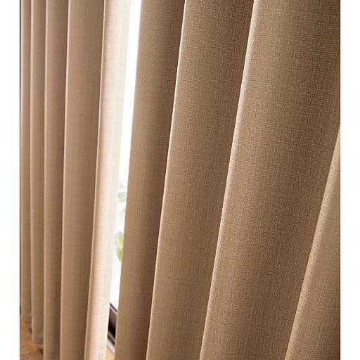 〔形状記憶付き〕遮音遮熱保温安眠1級遮光カーテン - セシール