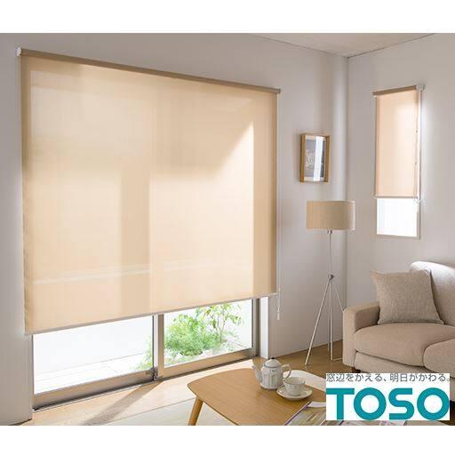 TOSO操作位置が変えられるロールスクリーン(チェーン式)の商品画像