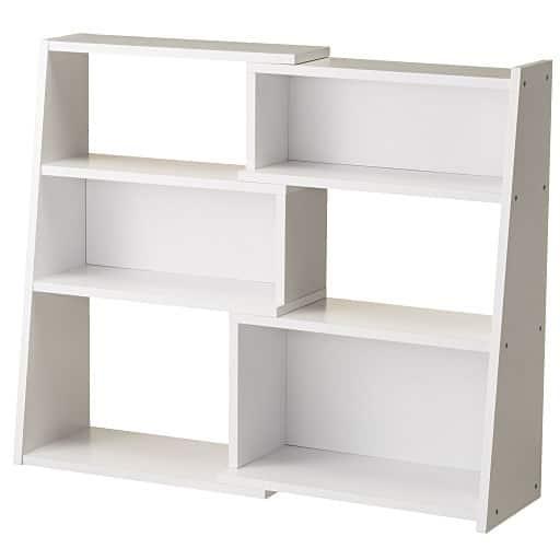 幅伸縮の出来るロータイプ書棚 – セシール