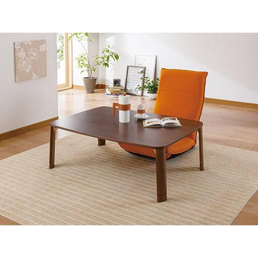 折りたたみテーブル(継ぎ脚式) - セシール
