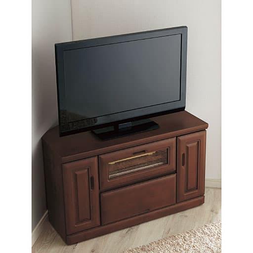 テレビ台(置く場所を選ばないコーナータイプ) - セシール