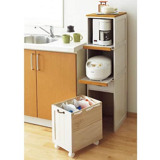 天然木炊飯器ラックの商品画像