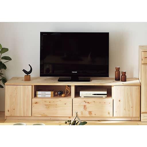 ひのきテレビボードの写真