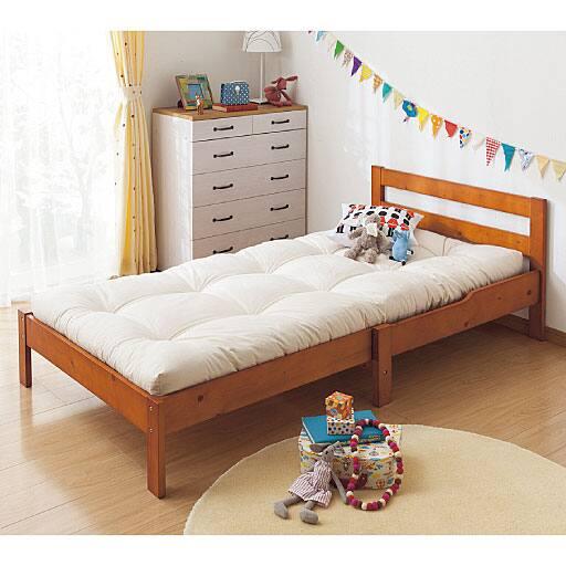 伸長式すのこベッド