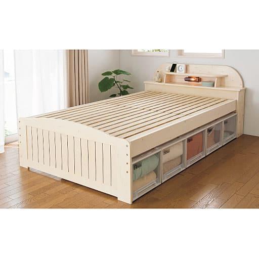 宮付きすのこベッドの商品画像