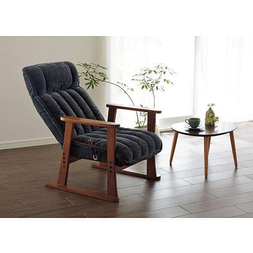 優しい生地感の高座椅子の写真